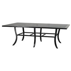 """Channel 62""""X90"""" Rectangular Dining Table"""