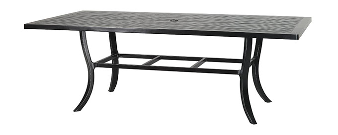 """Channel 44""""X86"""" Rectangular Dining Table"""
