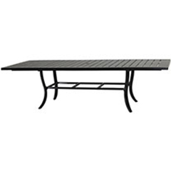 """Channel 44""""X79""""/114"""" Extension Dining Table"""