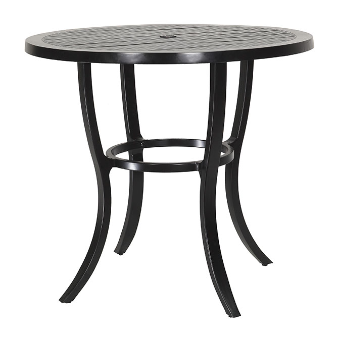 """Channel 44"""" Round Bar Table"""