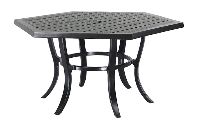 "Channel 61"" Hexagon Dining Table"