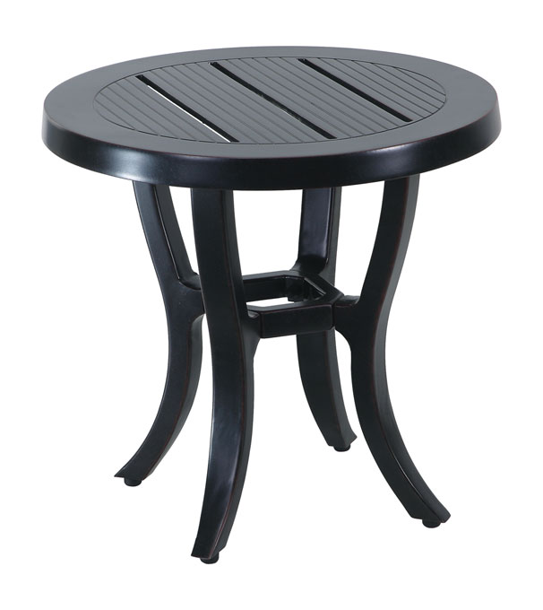 """Channel 22"""" Round End Table"""