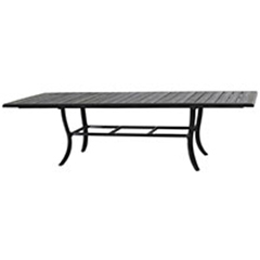 "Lattice 44"" x 79""/114"" Extension Dining Table"