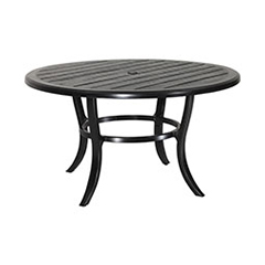 "Lattice 53"" Round Dining Table"