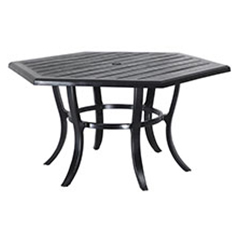 "Lattice 61"" Hexagon Dining Table"