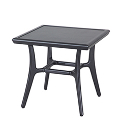 """Fusion 22"""" Square End Table - 21"""" Height"""