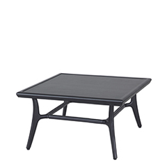 """Fusion 40"""" Square Coffee Table - 16"""" Height"""