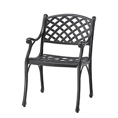 Columbia Cushion Dining Chair - Welded