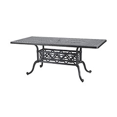 "Grand Terrace 42"" x 72"" Rectangular Dining Table"