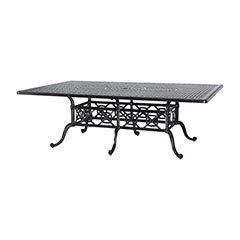 "Grand Terrace 60"" x 90"" Rectangular Dining Table"