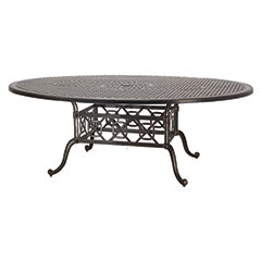 "Grand Terrace 60"" x 80"" Geo Dining Table"