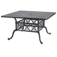 "Grand Terrace 60"" Square Dining Table"