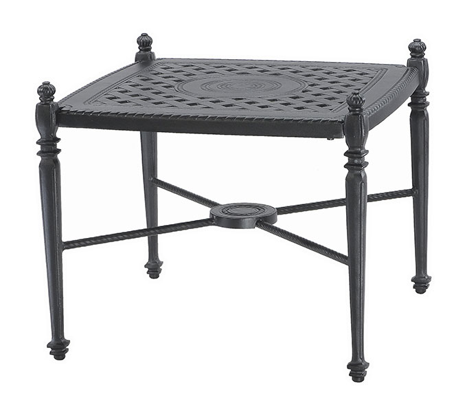 """Grand Terrace 26"""" Square End Table"""