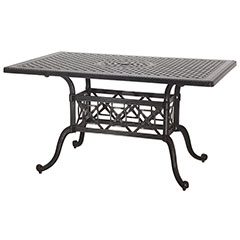 "Grand Terrace 42"" x 63"" Rectangular Bar Table"