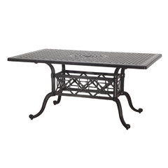 "Grand Terrace 42"" x 63"" Rectangular Balcony/Gathering Table"