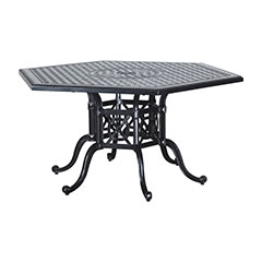 "Grand Terrace 61"" Hexagon Dining Table"
