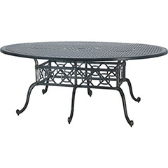 "Grand Terrace 72"" x 102"" Geo  Bar Table"