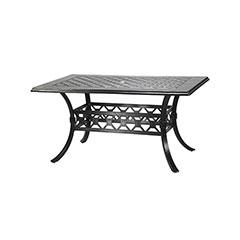 "Madrid II 42"" x 63"" Rectangular Dining Table"