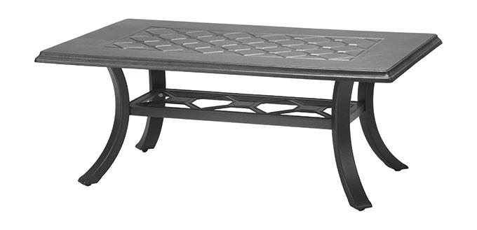 "Madrid II 24"" x 48"" Rectangular Coffee Table"