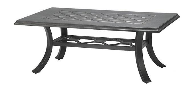 "Madrid II 30"" x 48"" Rectangular Coffee Table"
