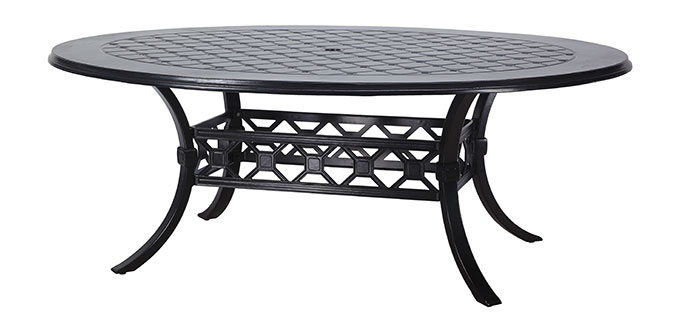 "Madrid II 60"" x 80"" Geo Dining Table"