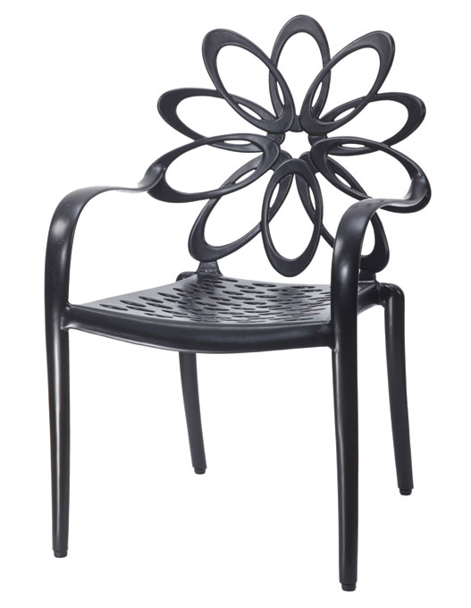 Lotus Cushion Café Chair - Stacking