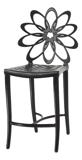 Lotus Cushion Stationary Balcony Stool w/o Arms