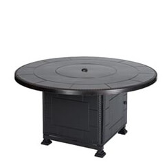 "Paradise 54"" Round Gas Fire Pit with Paradise Base"
