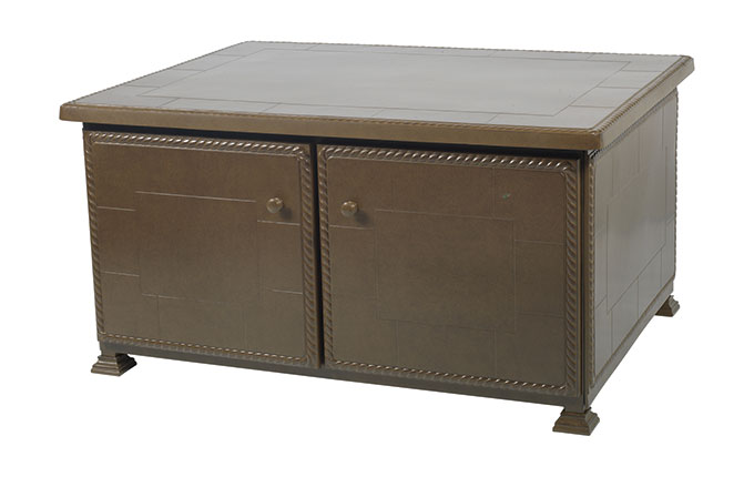 """Paradise 36"""" x 48"""" Storage Coffee/Chat Table"""