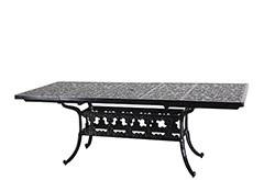 "Regal 44"" x 74""/114"" Rectangular Extension Dining Table"