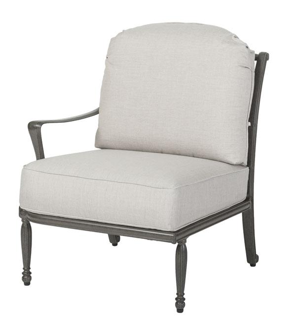 Bel Air Cushion Right Arm Lounge Chair