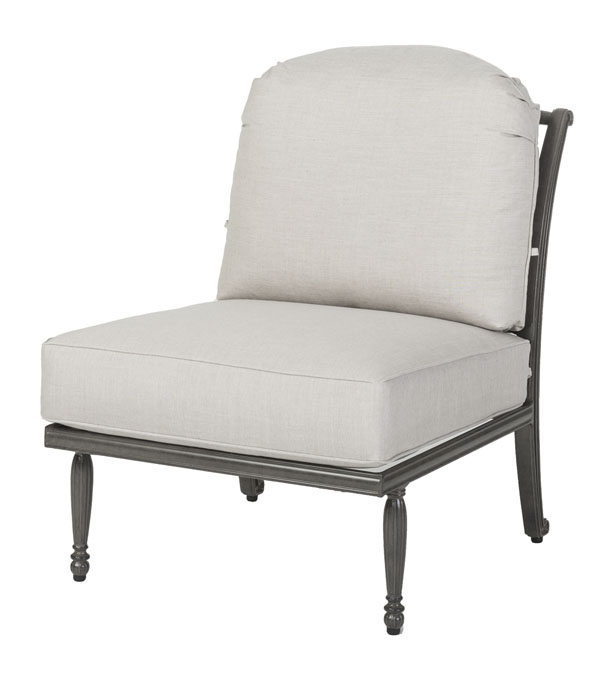 Bel Air Cushion Armless Lounge Chair