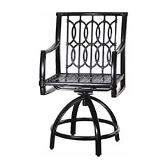 Manhattan II Cushion Swivel Balcony Stool