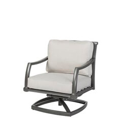 Manhattan II Cushion Swivel Rocking Lounge Chair