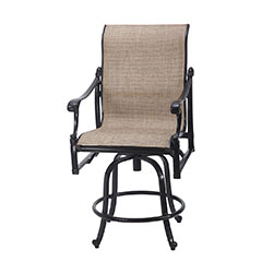 Michigan Sling Swivel Balcony Stool