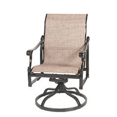 Michigan Sling Standard Back Swivel Rocker