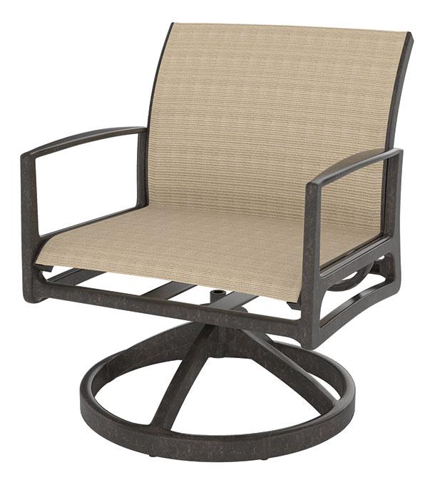 Phoenix Sling Swivel Rocking Lounge Chair
