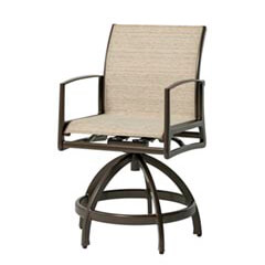 Phoenix Sling Swivel Rocking Balcony Stool