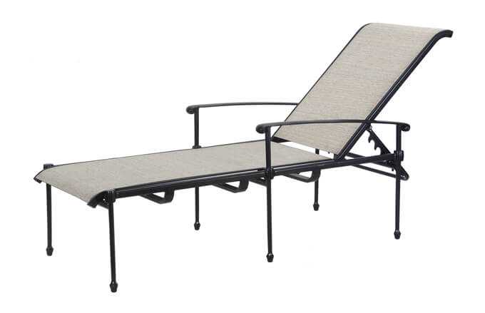 Morro Bay Sling Chaise Lounge