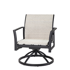 Echelon Sling Swivel Rocking Lounge Chair