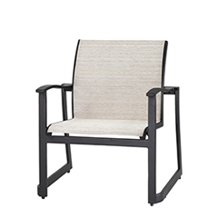 Paragon Sling Lounge Chair - Stacking