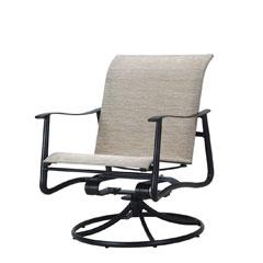Aria Sling Swivel Rocking Lounge Chair