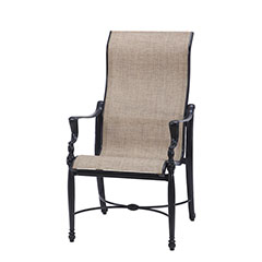 Bel Air Sling High Back Dining Chair