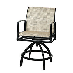 Phoenix Sling Swivel Balcony Stool