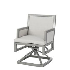 Drake Upholstered Swivel Rocker