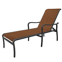 Cabrisa Padded Sling Chaise Lounge