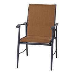 Lida Padded Sling Dining Chair