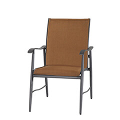 Lida Padded Sling Lounge Chair