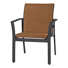 Echelon Padded Sling Dining Chair - Stacking