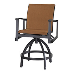 Paragon Padded Sling Swivel Balcony Stool